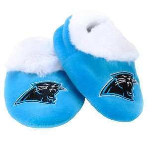 Carolina Panthers NFL BABY SLIPPERS XL 12 24 Months