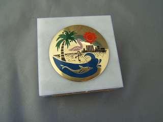 Vintage Miami Beach Sand & Sun Souvenir Paperweight