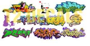 HO Scale Custom Graffiti Decals #19