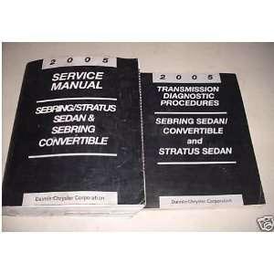 2005 Chrysler Sebring Dodge Stratus Service Manual Set (service manual