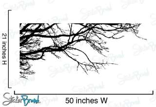 Vinyl Wall Decal Sticker Tree Top Branches 50 X 21