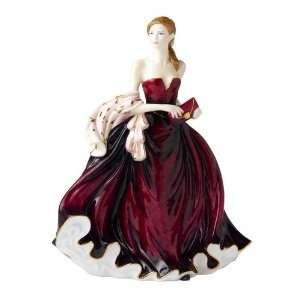 Royal Doulton Pretty Lady Figurine Happy Birthday 2010