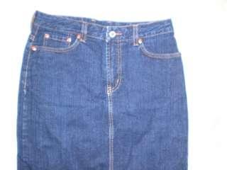 Lucky Brand Jeans size 25 long denim skirt used