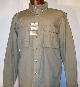 New RUGGED EARTH LngSlv Vented Fishing Shirt Outdoors