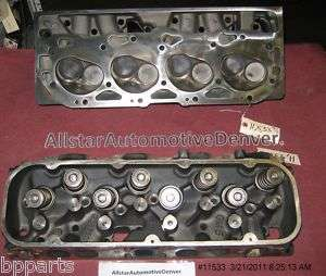 GM 454 CHEVY ENGINE CYLINDER HEADS A/B 1991 95 #11533