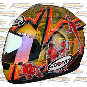 Suomy Excel Spec 1R Extreme Wall Street Full Face Helmet
