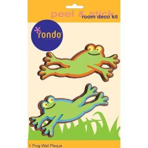 Rondo 4654E Baby and Kids Room Wall Decoration stickers 3 D Foam Frog