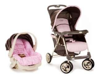 Cosco Sprinter Stroller Travel System ~PINK HANNAH