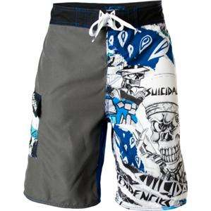 VANS SUICIDAL TENDENCIES Ltd Ed Swim Suit TRUNKS BOARD SHORTS Punk S