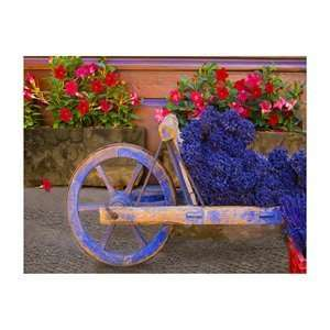 High Definition Canvas Art 78001 Lavender Cart   Provence
