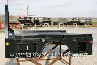 SK Model Utility Truck Flatbed Dodge/Ford/Chevy With Gooseneck Trough