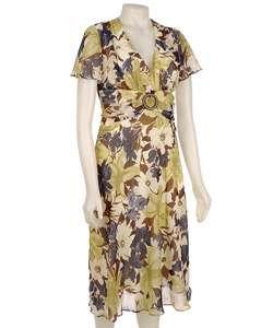 Sheri Martin New York Womens Floral Dress  Overstock
