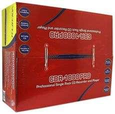 VOCOPRO CDR 1000 PRO 1U RACK LIVE CD RECORDER BURNER 613815567059