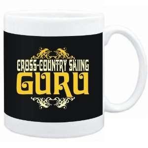 Mug Black  Cross Country Skiing GURU  Hobbies Sports