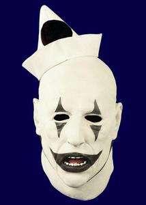 Opera Clown Halloween Costume Latex Mask Hand Painted