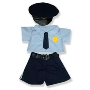 Official Police Officer Outfit Teddy Bear Clothes Fit 14