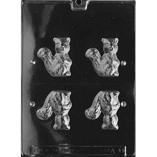 Life Of The Party 3D SQUIRREL Animal Chocolate Candy Mold