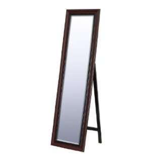 West Traditional Cherry Floor Mirror, 18 Inch by 64 Inch