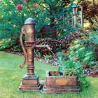 Little Giant Village Pump Planter Fountain