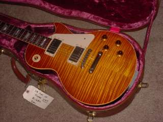 Gibson Les Paul HISTORIC R8 AAAAA KILLER Flametop 2001 MINT! Wide