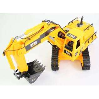 Channel HUGE Awesome King Force BIG WORKING Front Shovel Digger RC