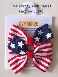 Gymboree Various Hair Curlies Pony Os Clips NWT