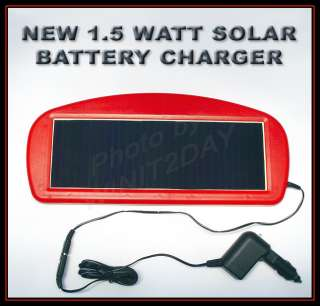 SOLAR PANEL 12 VOLT BATTERY CHARGER CAR TRUCK BOAT RV