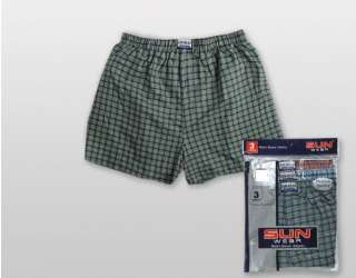 LOT OF 6 MENS PLAID BOXER SHORTS UNDERWEAR ANY SIZE