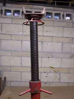 Heavy Duty Screw Jack 60 tall with 19.5 screw |