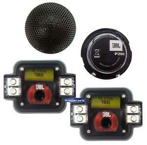 P26t JBL 1 DOME POWER SERIES TWEETERS CROSSOVERS