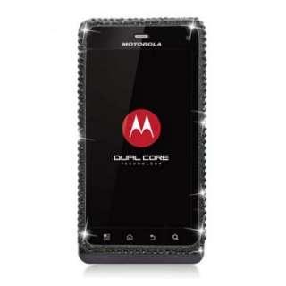 Rhinestone BLING Case for Motorola DROID III 3 XT862 Jewel Cover