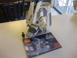 LEGO Star Wars Imperial Officer with Imperial Shuttle Fig Set # 7166