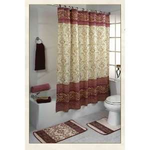 BATH RUGS AND CURTAINS