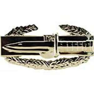 U.S. Army Combat Action Badge Pin Silver Plated 1 1/4