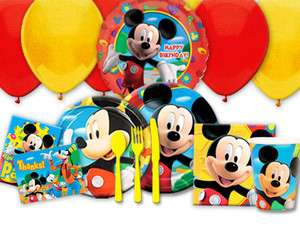 Mickey Mouse Clubhouse Birthday Party Supply MANY CHOICES   U Choose U