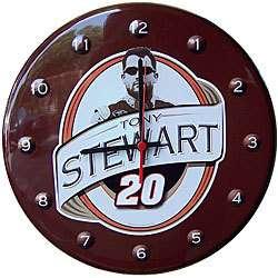 NASCAR Collectible Clock Tony Stewart #20, Racing, NEW 758060010810