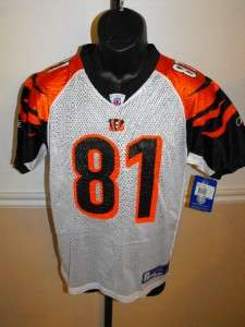 Terrell Owens Bengals YOUTH LARGE L 14 16 Jersey #TS