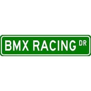 BMX RACING Street Sign   Sport Sign   High Quality Aluminum Street