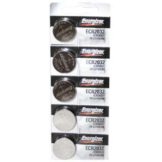 Energizer CR2032 Lithium 3V Coin Cell Batteries   DL2032 KL2032