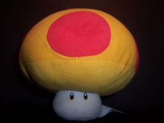 Super Mario Bros. Plush Mushroom Game Boy Nintendo Toy