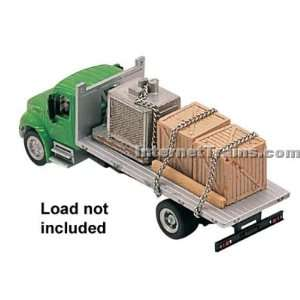 Boley HO Scale International 4300 2 Axle Flatbed Truck
