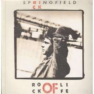 ROCK OF LIFE LP (VINYL) GERMAN RCA 1988 RICK SPRINGFIELD