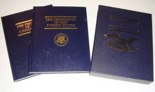 Vol. ~PRESIDENTS of the UNITED STATES~1977~SET w/Case