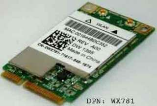 Dell Inspiron 1525 WX781 Laptop Genuine WLAN WIFI Mini Wireless Card