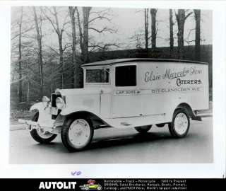 1929 Chevrolet Delivery Truck Factory Photograph