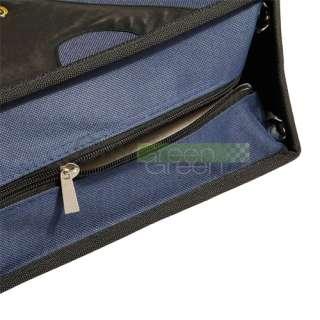 320 Disc CD VCD DVD Storage Holder Case Bag Blue/Black High Quality