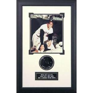 Willie Mays San Francisco Giants Blank Shadow Box  Sports
