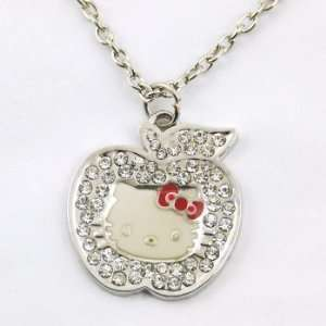 Hello Kitty Necklace Apple Toys & Games