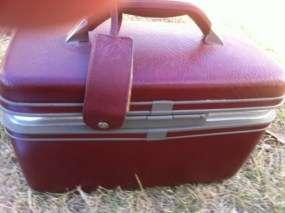 Samsonite Cosmetic Train case Traincase & Keys Suitcase Luggage Makeup