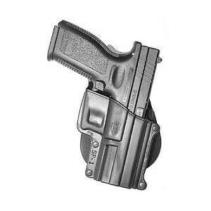 Standard Paddle Holster, Springfield XD, Right Hand, Black